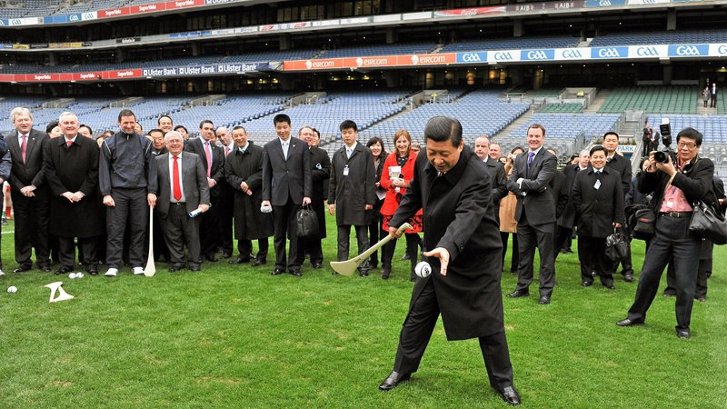 President Xi Jinping's visit in 2012 was a major boost for Chinese-Irish relations